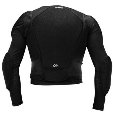 Pettorina motocross Acerbis MX Jacket soft Nero
