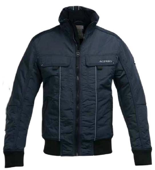 Motorcycle jacket Acerbis Wilshire Blue