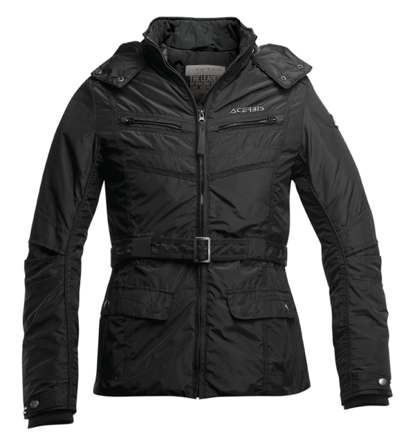 Motorcycle jacket woman Acerbis Santa Monica Black