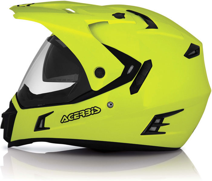 Acerbis Active Helmet Full Yellow fluo