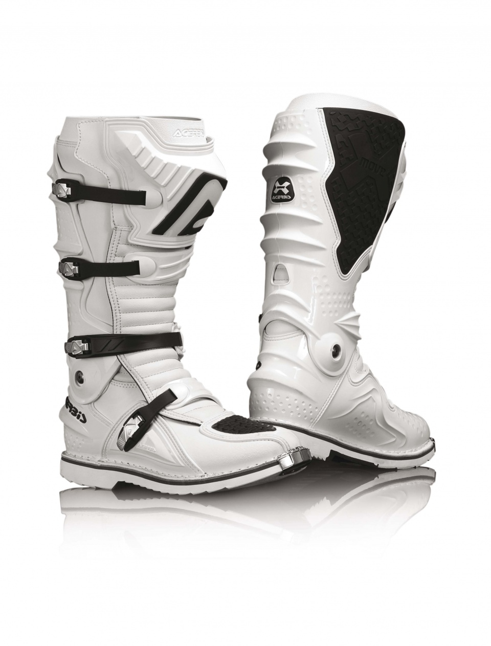 Motocross Boots Acerbis X-move White