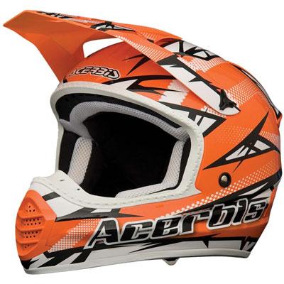 Casco Acerbis Motocross Atomik Arancione