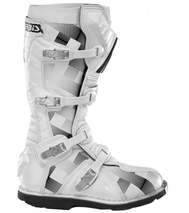 Acerbis Motocross Boots White Scotch