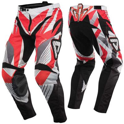 Pantaloni motocross Acerbis Impact Rosso