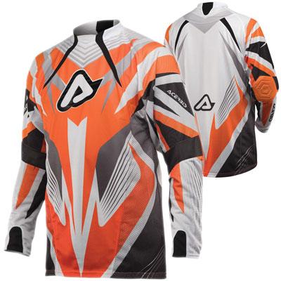 Maglia motocross Acerbis Impact Arancio