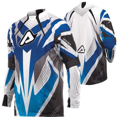 Acerbis Impact Motocross Jersey Blue