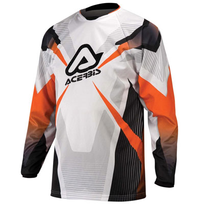Maglia Motocross Acerbis Profile Arancio