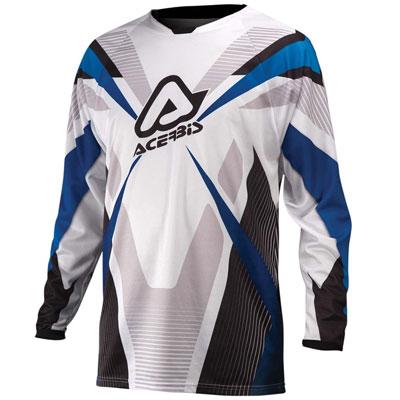 Maglia Motocross Acerbis Profile Blu