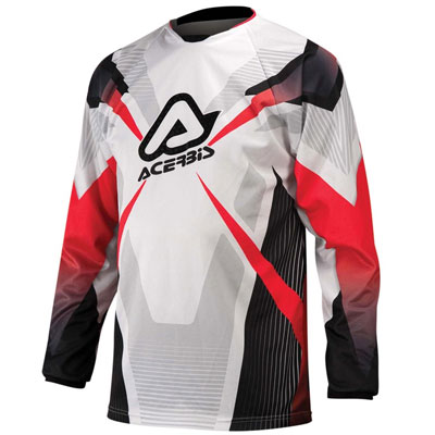 Acerbis Motocross Jersey Red Profile