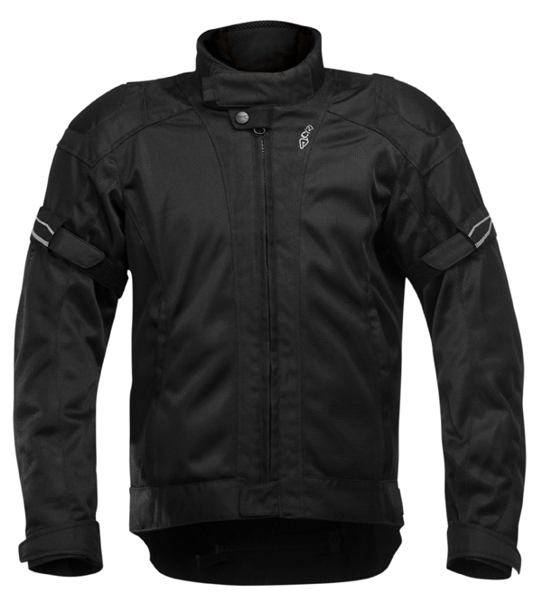 Acerbis Vented Motorcycle Jacket Colby Black
