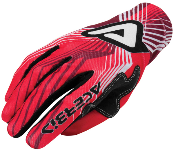 Gloves Acerbis Motocross Mx-x3 Red