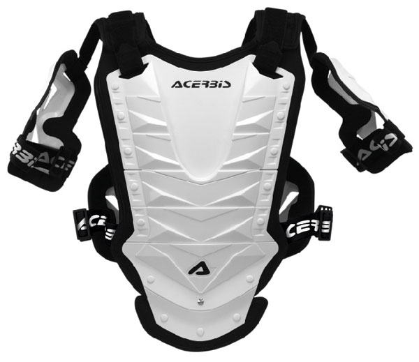Pettorina cross Acerbis Cosmo Mx Short Bianco