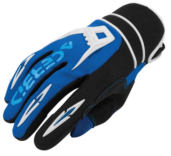 Cross X2 Gloves Acerbis MX Blue