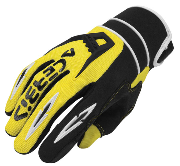 Cross X2 Gloves Acerbis MX Yellow