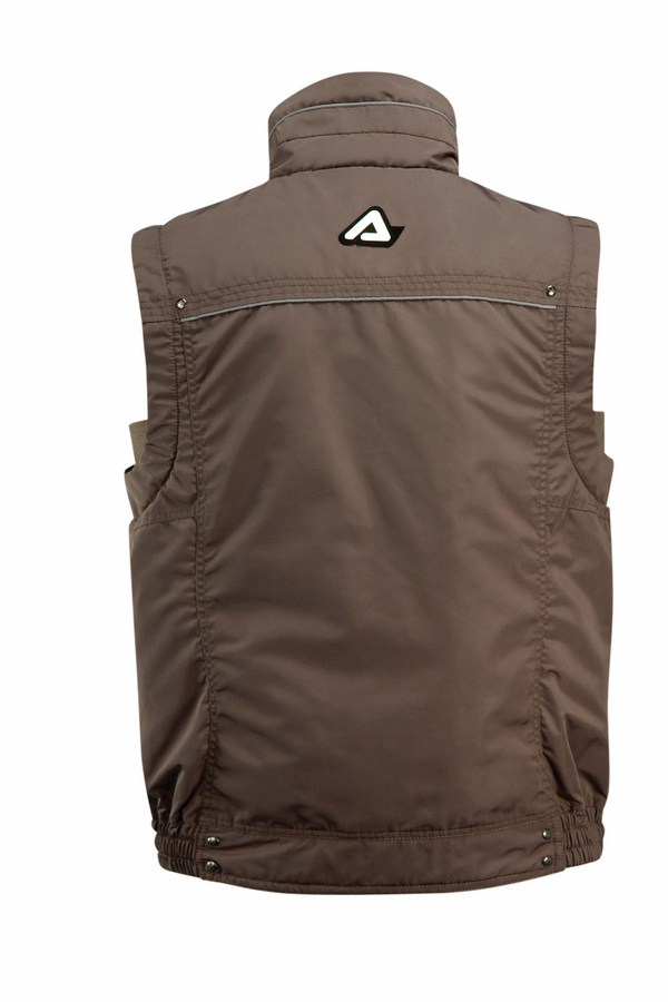 Gilet moto Acerbis Bel Air Marrone