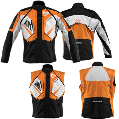 Motocross Acerbis Impact Jacket Orange