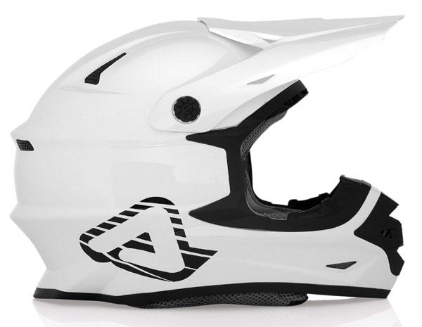 Casco motocross Acerbis X pro FullWhite