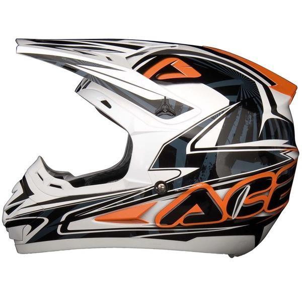 Casco Acerbis Motocross Basic Arancione