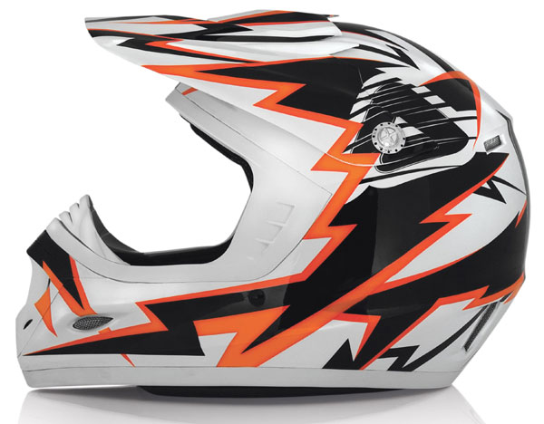 Casco cross bambino Acerbis Junior Master Burner