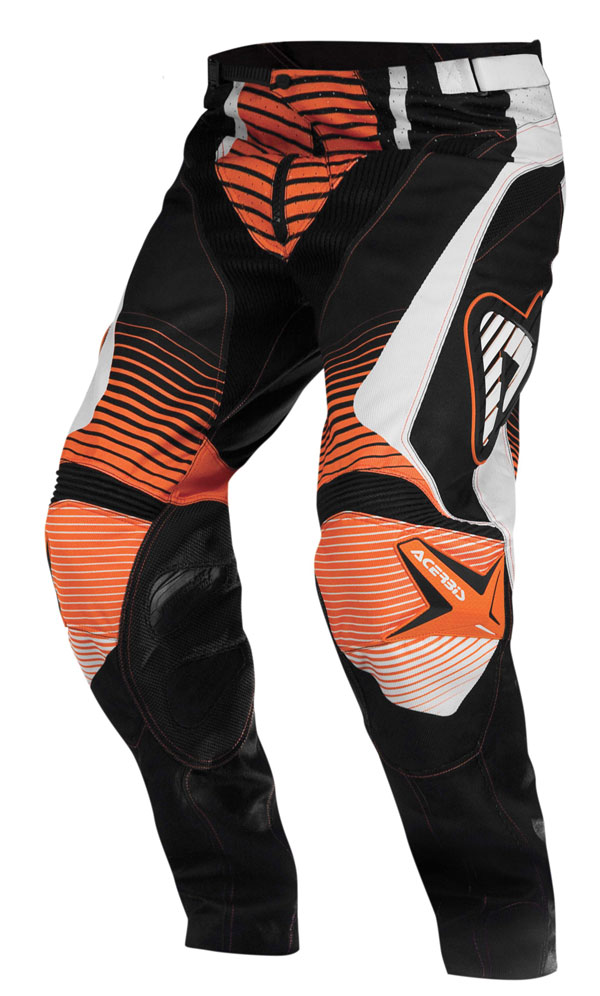 Pantaloni cross Acerbis Impact Arancio