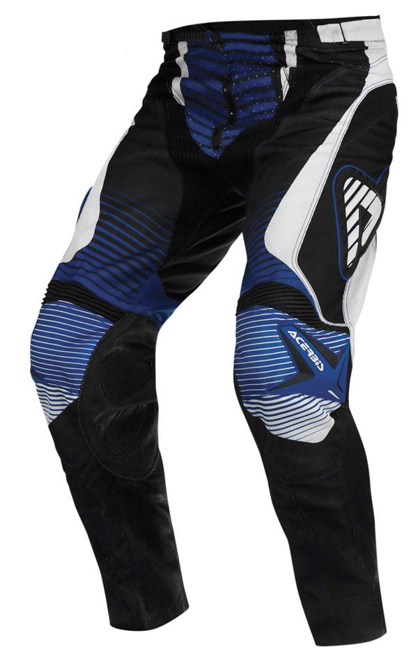 Pantaloni cross Acerbis Impact Blu