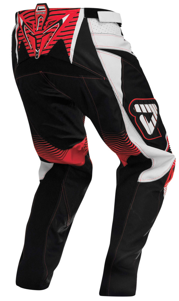 Pantaloni cross Acerbis Impact Rossi