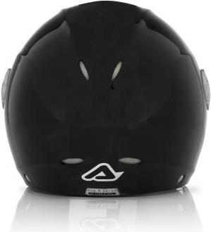 Acerbis X-JET Full Black jet helmet