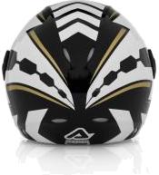 Acerbis X-JET Top Gun jet helmet black-white