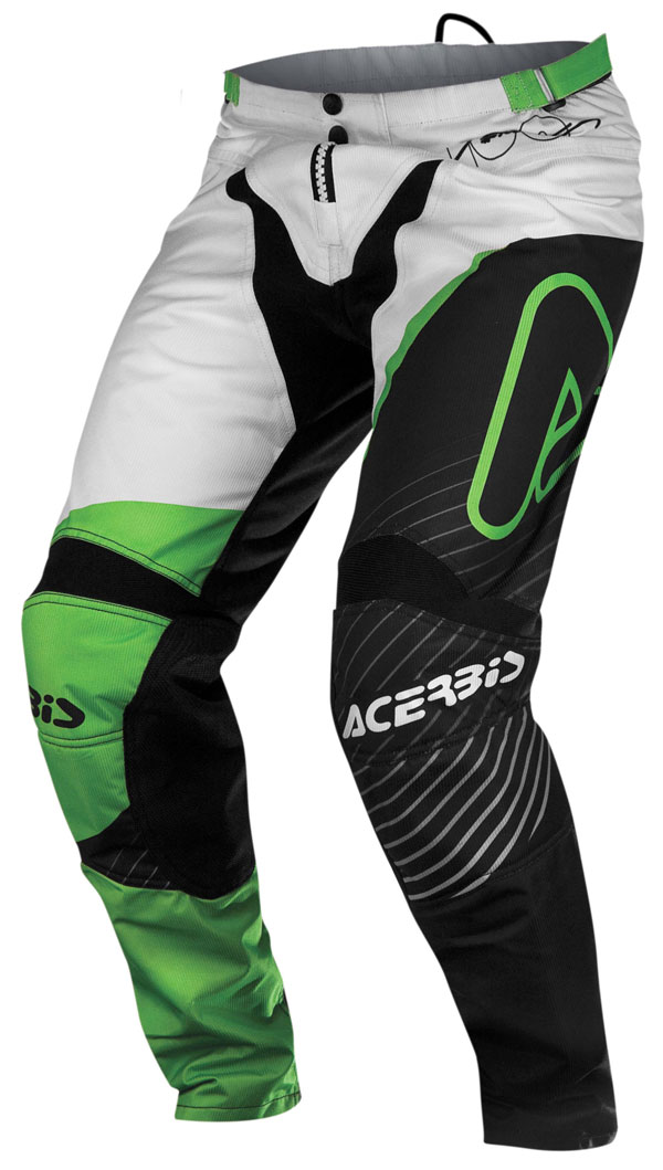 Pants Acerbis cross SPECIAL EDITION Tommy Searle Green