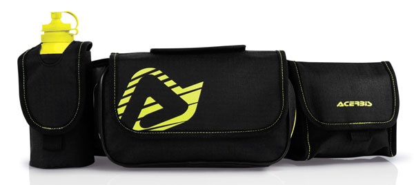Multi-pocket pouch Acerbis Impact Black Yellow