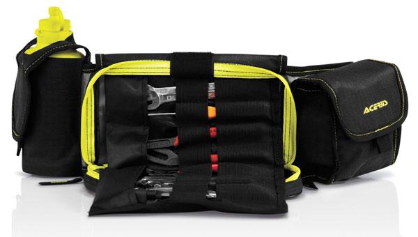 Multi-pocket pouch Acerbis Profile Black Yellow