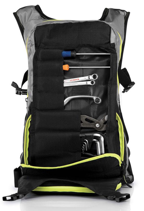 Backpack Acerbis Drink H2O BackPack Black Yellow