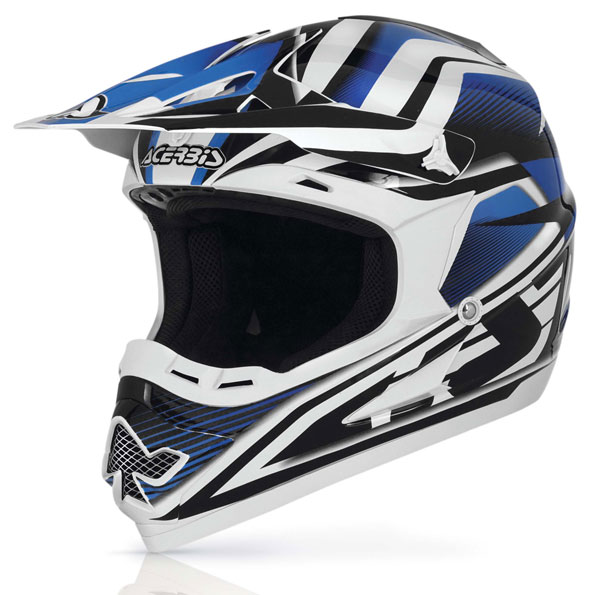 14 Blue Cross helmet Acerbis Profile