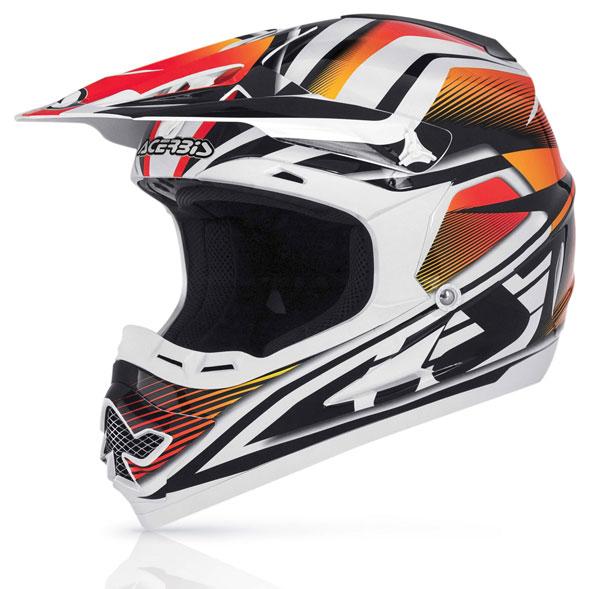 Cross Acerbis Profile Helmet Red 14