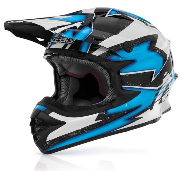 Cross helmet Acerbis X-Pro Blue Firefly