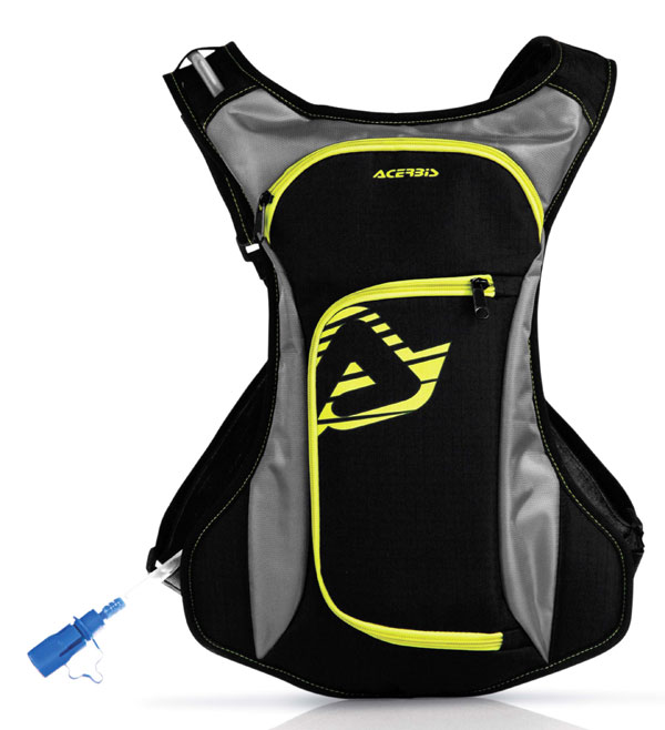 Zaino Acerbis Drink Bag Nero Giallo
