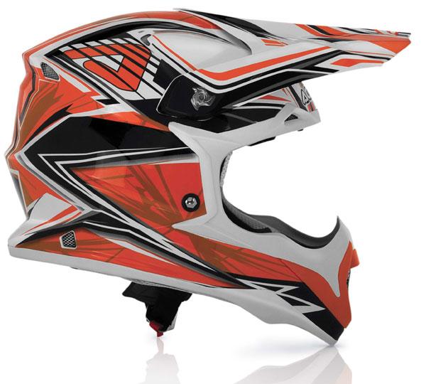 Cross helmet Acerbis Impact Orange Bombshell