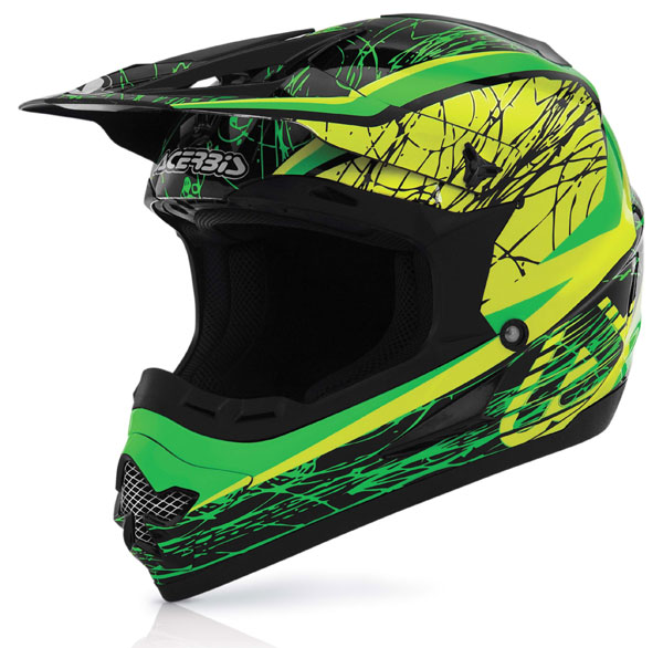 Acerbis Profile Helmet cross Gipsy Green Yellow