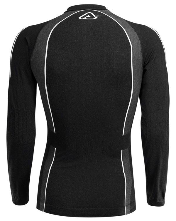 Long sleeves knitted underwear Corporate Acerbis Black