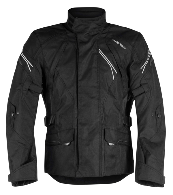 Motorcycle jacket Acerbis Triskele Black