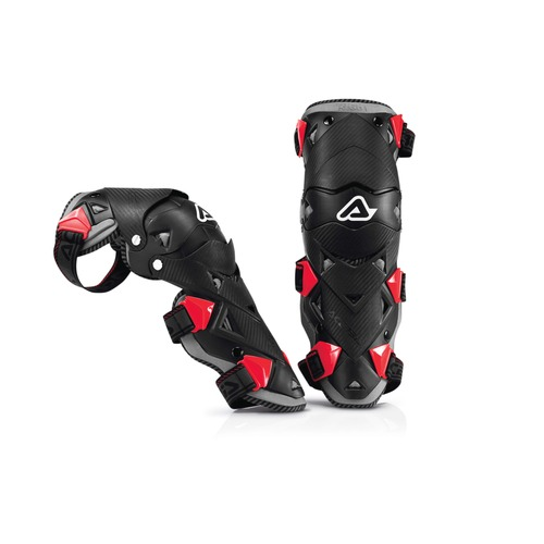 Knee Acerbis Impact Evo 2.0 Black Red