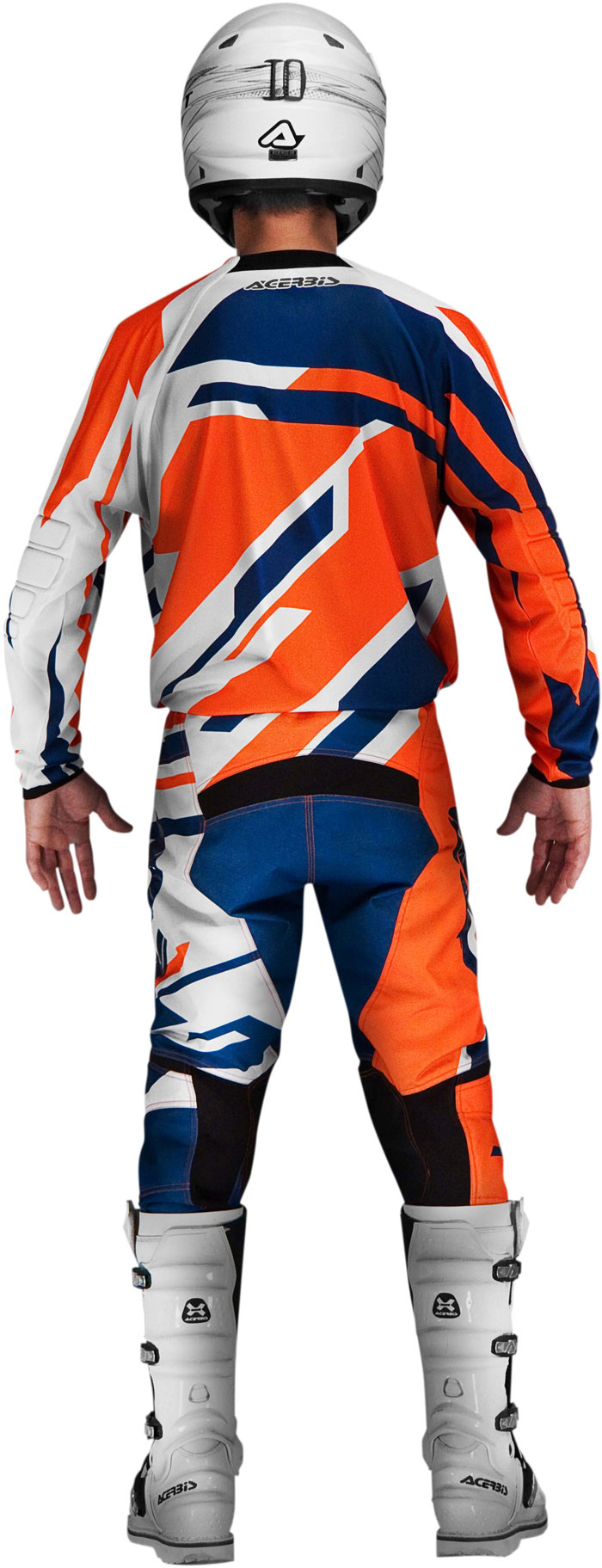 Jersey cross Acerbis Profile Orange Blue