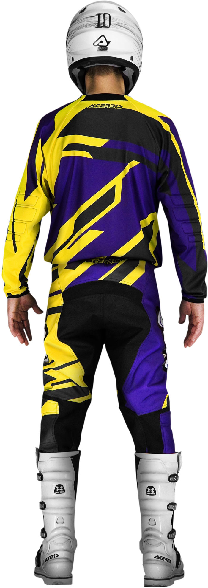 Jersey cross Acerbis Profile Purple Yellow