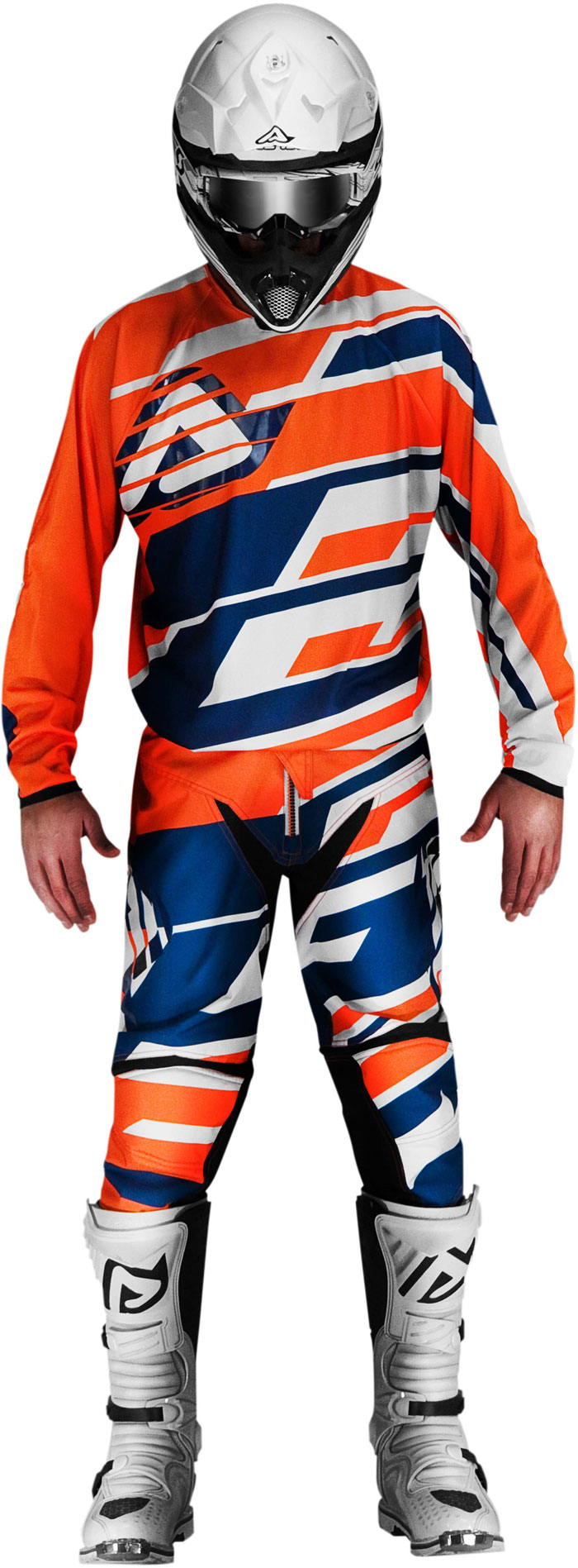 Pants cross Acerbis Profile Orange Blue
