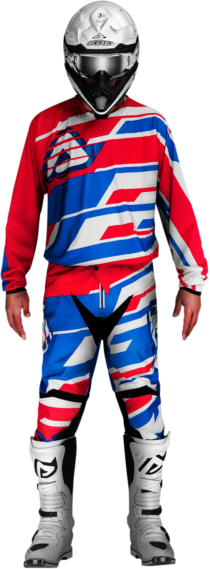Pants cross Acerbis Profile Red Blue