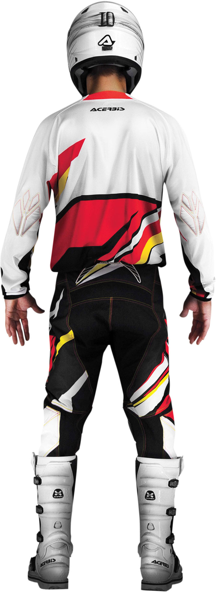 Pants cross Acerbis X-Gear, Red, Yellow