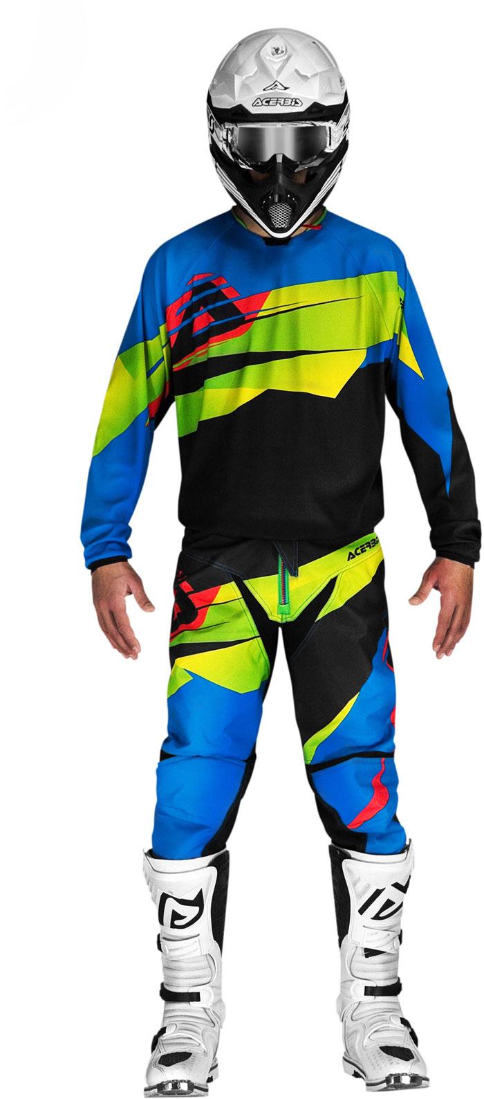 Jersey cross Acerbis LTD Edition Green Blue