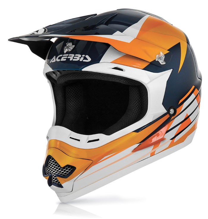 Casco cross Acerbis Profile 15 Arancio