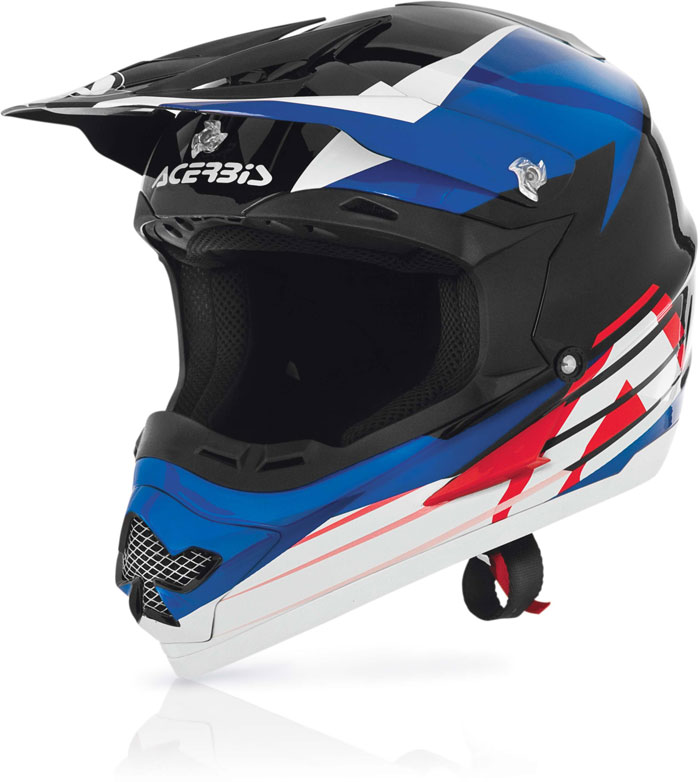 Casco cross Acerbis Profile 15 Blu