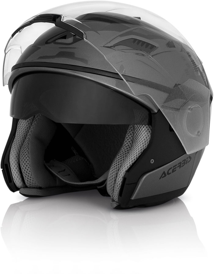 Modular Helmet Acerbis Stratos Grey Metallic